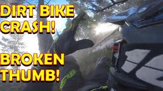 Rampart Range Dirt Bike Crash