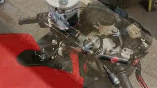 How to install an aftermarket steering stabilizer on a Ducati 848(Aliexpress/Ebay)