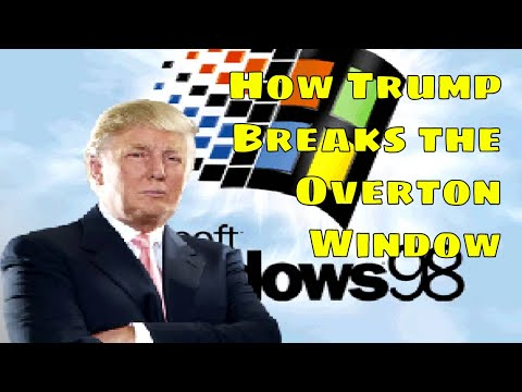 How Donald Trump changes the conversation: the Overton Window