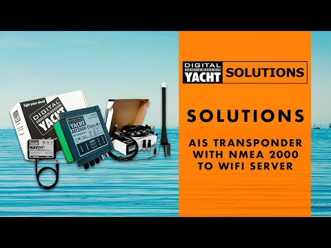 Digital Yacht Solutions - AIS Transponder with NMEA 2000 to WiFi Server - Digital Yacht