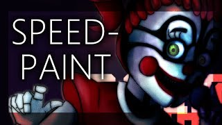 » »Speedpaint» » Baby Animatronic » » FNaF Sister Location
