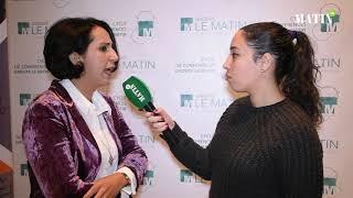 Cycle de conférences du Groupe Le Matin : Déclaration de Assia Bacherki, expert-comptable