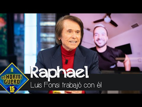 Luis Fonsi habla de Raphael: «Es un privilegio trabajar con gente que uno admira» – El Hormiguero