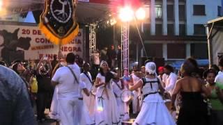 Apresentação de Maracatu na semana da Consciência Negra