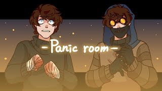 Panic room (MEME)(Ticci Toby)(Creepypasta)(blood warning)
