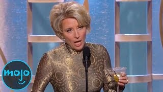 Top 10 Celebrities WASTED at Award Shows