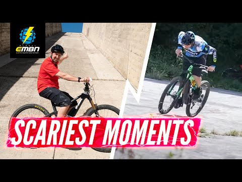 Top 6 Scary Moments On EMBN   Chris Smith's Scariest EMTB Rides