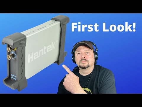Hantek 6022BE USB Oscilloscope Introduction