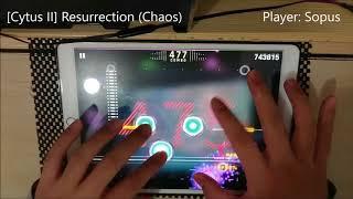 [Cytus 2] Resurrection (Chaos) - Million Master!