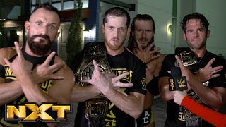 Undisputed ERA react to huge NXT Tag Team Title Match announcement: WWE Exclusive, Jan. 9, 2019