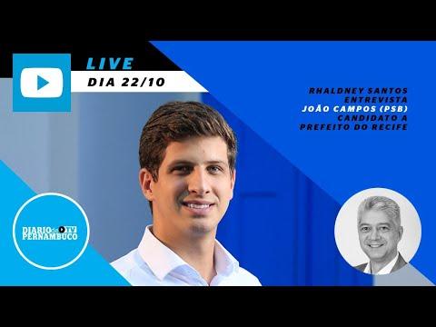 Rhaldney Santos entrevista João Campos (PSB)