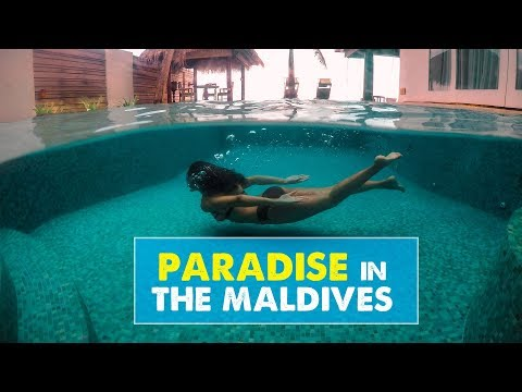 WE MADE IT TO THE MALDIVES! Naladhu Private Island | Newlywed Diaries Vlog 01