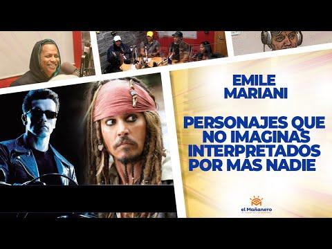 TOP 10 Personajes que no imaginas interpretados por más nadie - Emile Mariani