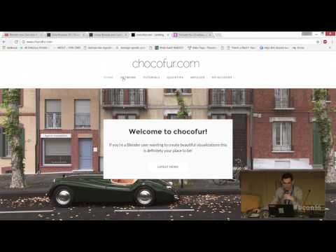 Chocofur studio rendering techniques