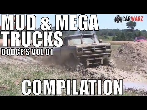 DODGE MUD & MEGA TRUCK MUD COMPILATION 2018 VOL 01