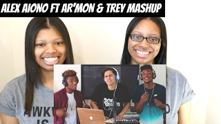 Alex Aiono Cover - I Spy, T Shirt, Isn't She Lovely, & Swang MASHUP FT AR'MON AND TREY | Reaction