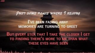Fivefold - Fading Away [HD Lyrics]