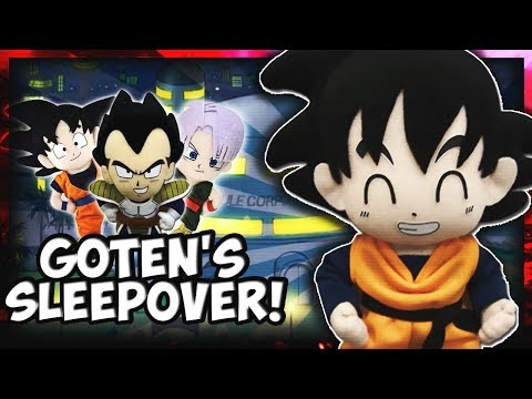 DBZ Movie: Goten's Sleepover!