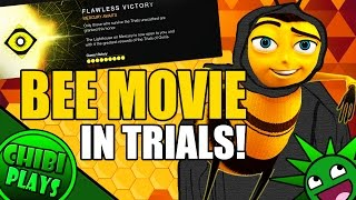 BEE MOVIE DESTINY TRIALS!  Except the longer you watch the more BEE it gets! width=