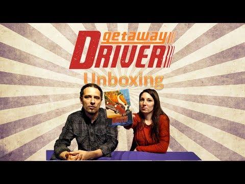 Getaway Driver - Unboxing - Yo Tenía Un Juego De Mesa TV #36