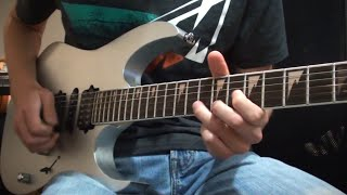 Final Fantasy VII - Those Who Fight Further (Boss Battle) Metal Guitar Cover