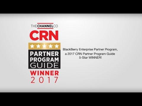BlackBerry  given 5-Star Rating in CRN's 2017 Partner Program Guide