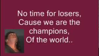 We are the Champions,,,,,,,Queen cover.wmv
