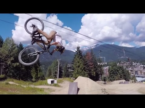 Pedal with Pros Down the Red Bull Joyride Course: 4K 360° Preview