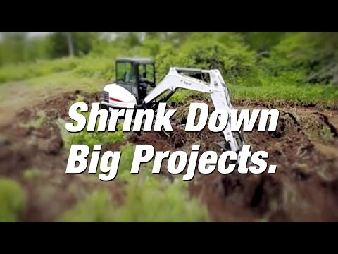 Compact Excavators And Loaders Tag Team Challenges.
