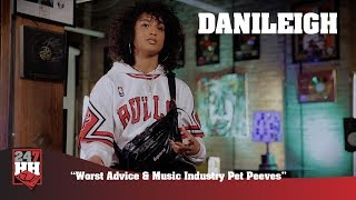 Danileigh - Worst Advice & Music Industry Pet Peeves (247HH Exclusive)