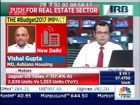 Post Budget Discussion on Affordable Housing with Mr. Vishal Gupta, MD - Ashaina Housing Limited