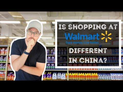 Is Shopping at Walmart Different in China? A Shopping Vlog.... if you're interested.