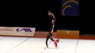 EC 2015   587   PnA   Junior   WP   BEL   Bal Final   VANDEN BERGHE & LAMMERTYN
