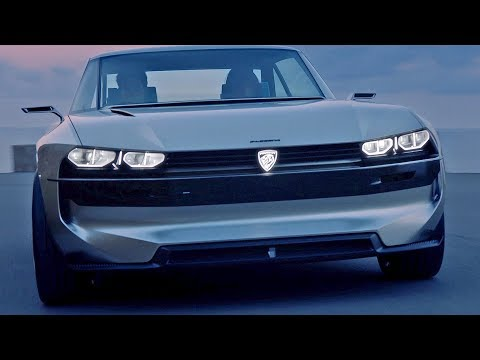 Peugeot e-Legend ? Perfect Concept Car