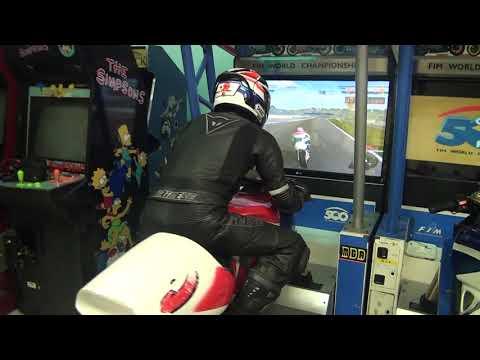 Jugando a a 500 GP de Namco.