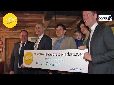 Donau TV: Auftakt Bürgerenergiepreis Niederbayern 2017
