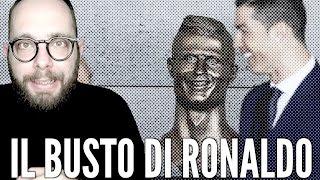 Il busto di Cristiano Ronaldo è ORRIBILE. E i geni in rete si scatenano...