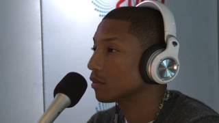 Pharrell Williams Talks Chris Brown, Miley Cyrus & Daft Punk