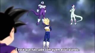 Goku, Gohan, Piccolo e Vegeta vs Turles, Slug, Freeza e Cooler (AMV)