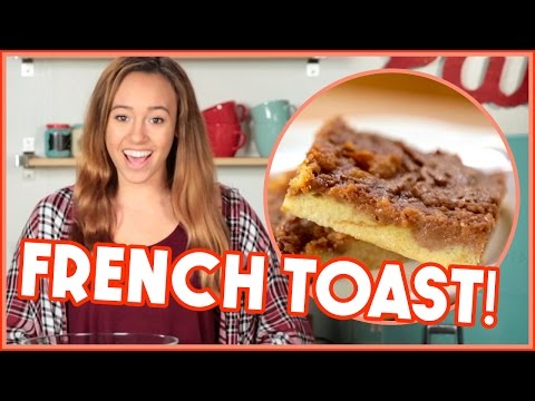 French Toast Casserole Made w/ Hot Dog Buns?! Scraps to Scrumptious w/ HowToByJordan