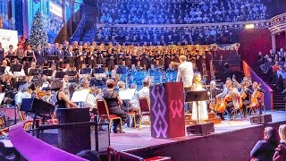"Amira Willighagen - ""O Holy Night"" - Royal Albert Hall - London, 15 December 2014"
