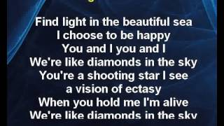 Diamnods in the sky - Rihanna Karaoke tip