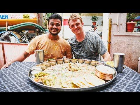 PUNE'S BIGGEST THALI IN INDIA! थाली GIANT 20+ ITEM BAHUBALI THALI CHALLENGE