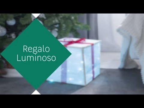 Manualidades navideñas – Regalo luminoso – LEROY MERLIN