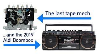 Tanashin - the last cassette mechs & Aldi's 2019 Boombox