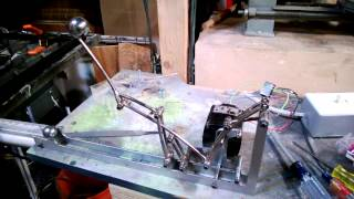 Almost Finished Rolling Ball Sculpture Lift Mechanism
