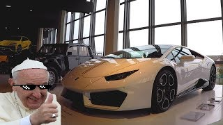 This is POPE Francis' Lamborghini Huracan! – Ultimate Popemobile [Sub ENG]