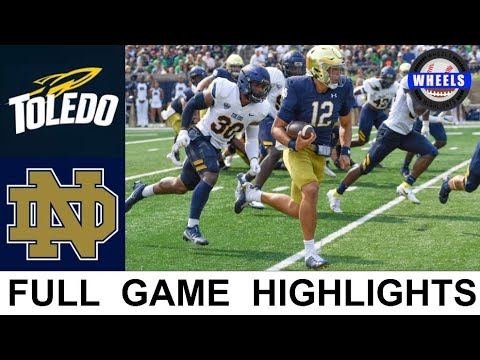 #8 Notre Dame vs Toledo Highlights (AMAZING GAME!) | Week 2 | 2021 College Football Highlights
