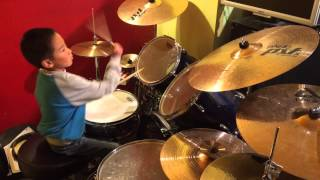 """The Ronettes - """"Be My Baby"""" Drum Cover"""
