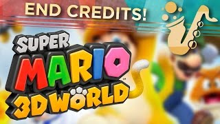 """Credit Roll (From """"Super Mario 3D World"""") Jazz Big Band Game Cover"""